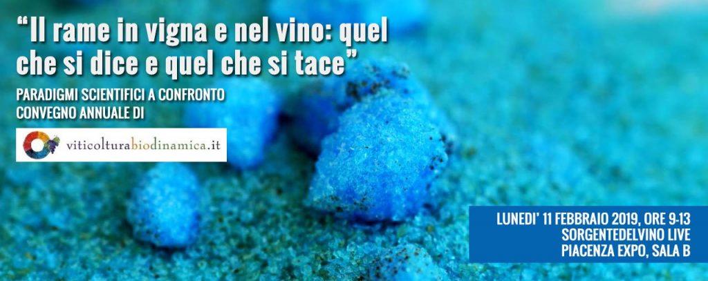 A PiacenzaExpo l'undicesimo convegno di vitivinicoltura biodinamica moderna