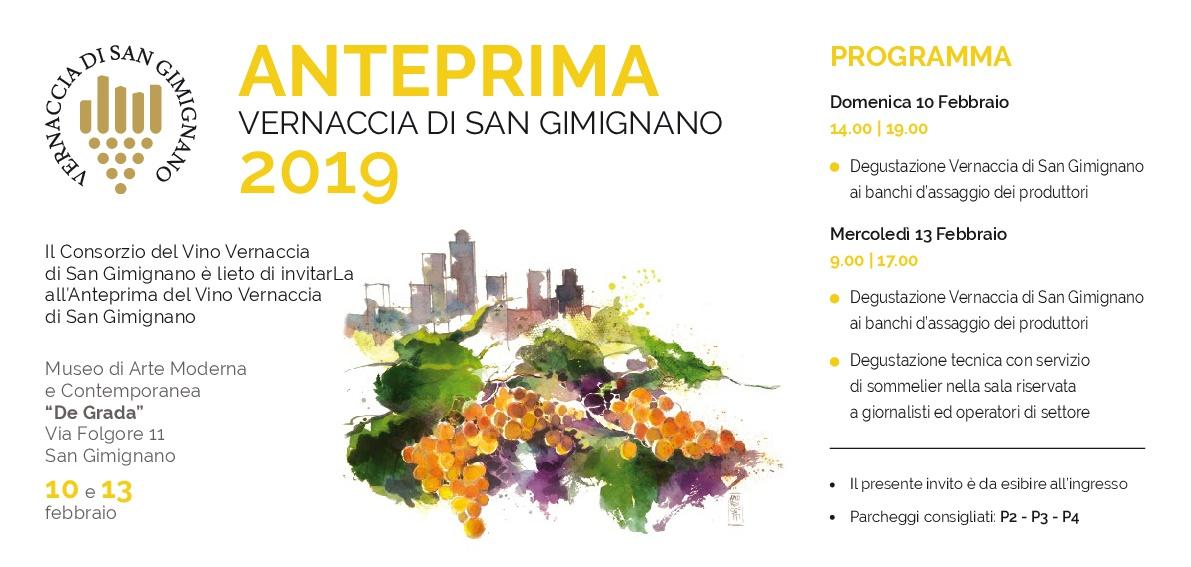 Anteprima Vernaccia di San Gimignano, inizia il countdown