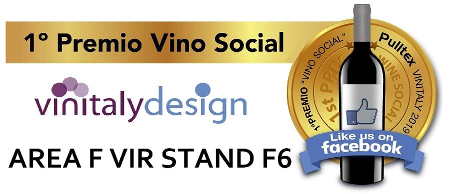 A Vinitaly Pulltex D&G Selezione lancia il 1° Premio Vino Social