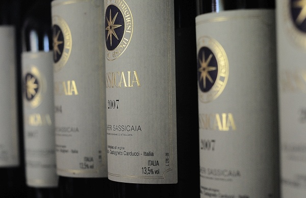 Sassicaia è il vino italiano più conosciuto al mondo