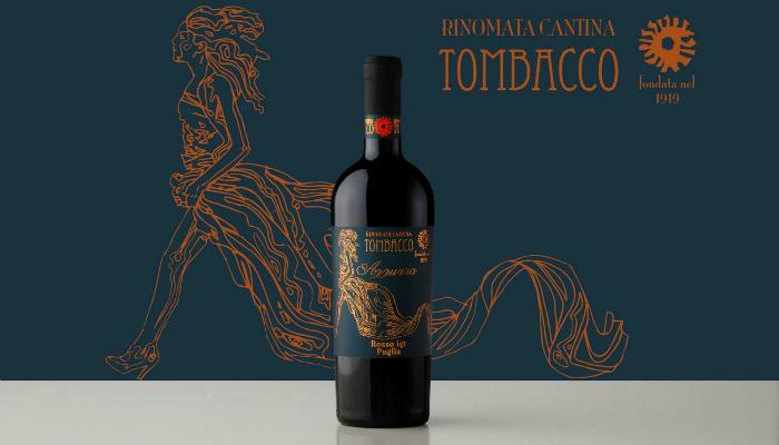 Azzurra, l'intenso vino rosso I.G.T Puglia di Vinicola Tombacco.
