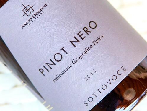 """La linea di vini """"Sottovoce"""" di 47 Anno domini."""