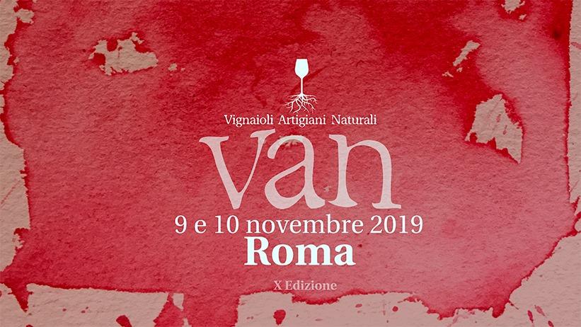 VAN Vignaioli Artigiani Naturali alla Città dell'Altra Economia di Roma