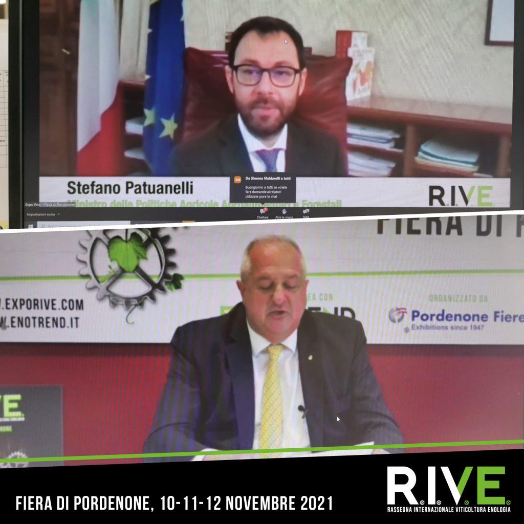 Ministro Patuanelli a Rive 2021