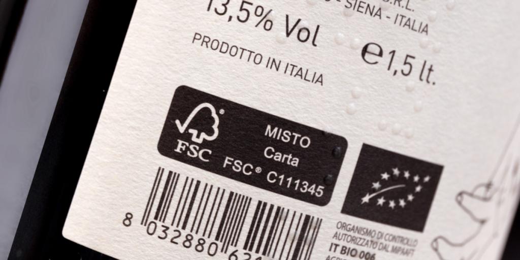 etichette vino personalizzate sostenibili