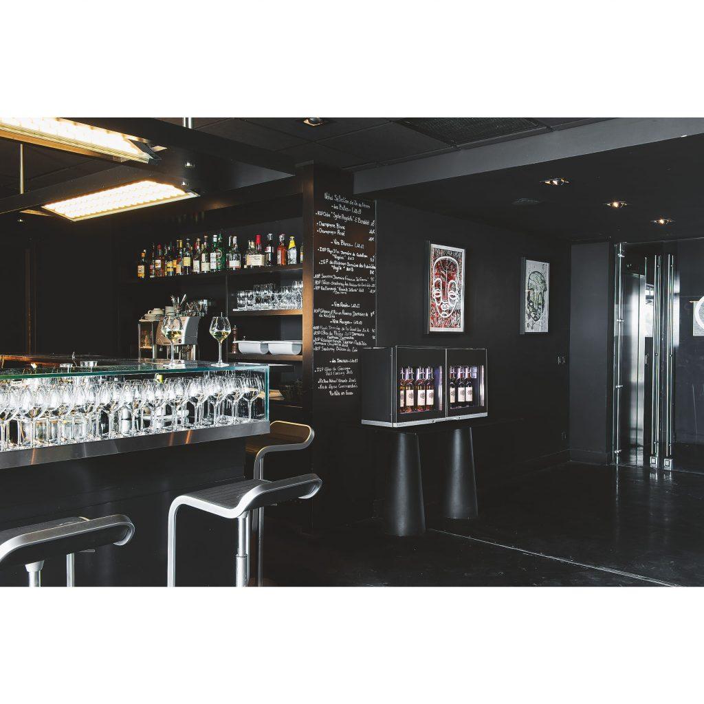 apparecchi servizio vino bicchiere Winebar